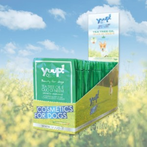 Yuup! - Tea Tree and Neem Oil Wipes - naturalna ochrona przed insektami i pasożytami