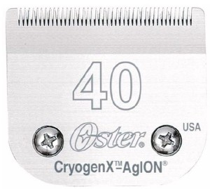 Oster - ostrze CryogenX nr 40 - 0,25 mm, chirurgiczne