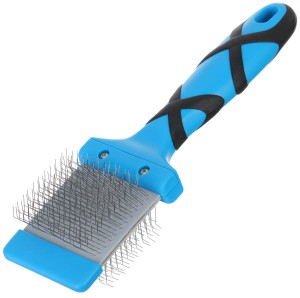 Groom Professional - Flexible Slicker Brush Soft - szczotka dwustronna, miękka