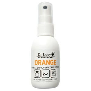Dr Lucy - Orange - mgiełka zapachowa z repelentem, 50 ml
