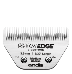 Andis - ostrze ShowEdge Livestock, Medium Coarse - 3,9 mm