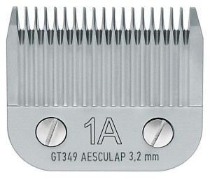 "Aesculap - ostrze ""snap-on"" GT349, 1a - 3,2 mm"