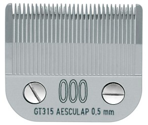"Aesculap - ostrze ""snap-on"" GT315, 000 - 0,5 mm"