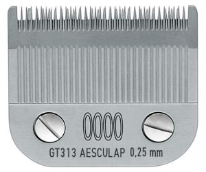 "Aesculap - ostrze ""snap-on"" GT313, 0000 - 0,25 mm"
