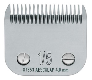 "Aesculap - ostrze ""snap-on"" GT353, 1/5 - 4 mm"