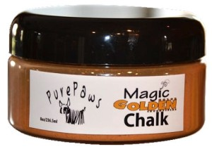 Pure Paws - Magic Golden Chalk - kreda do koloryzacji, złota, 236 ml